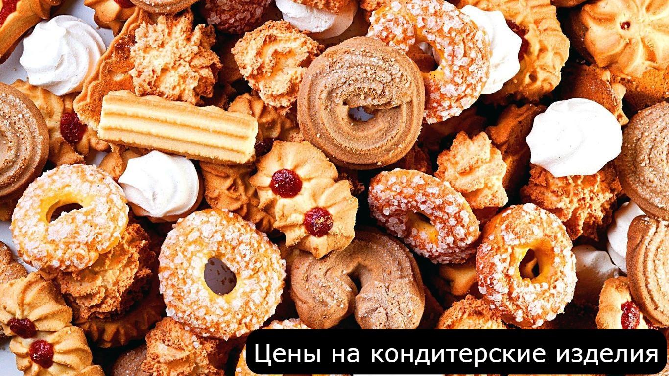 Цены на кондитерские изделия в Болгарии